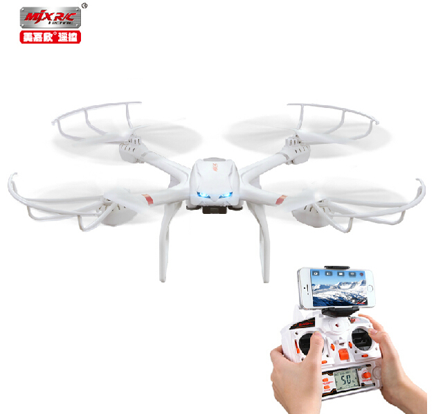 MJX X101 4CH 6-Axis 360 Flips One-key-return 2.4GHz Headless RC Quadcopter Drone w Support FPV Camera RTF original mjx x600 with c4005 or c4008 camera 6 axis gyro headless mode one key return wifi fpv rc quadcopter rtf