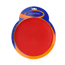 HOOPET Dog Toys Bone print Pet Dog Frisbee Flying Disc Training Tooth Resistant Pet Toys Speelgoed