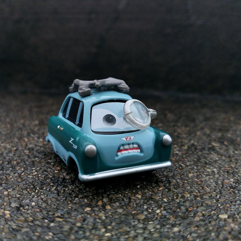 Disney Pixar тачки 3 20 стильные игрушки для детей Молния Маккуин Высокое качество Пластиковые тачки игрушки модели персонажей из мультфильмов рождественские подарки - Цвет: 20