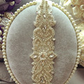 2017 Women New XW56 Crystal Rhinestone Beading Wedding Bridal Dress Belt Cummerbunds Sash Waistband Girdle Accessories