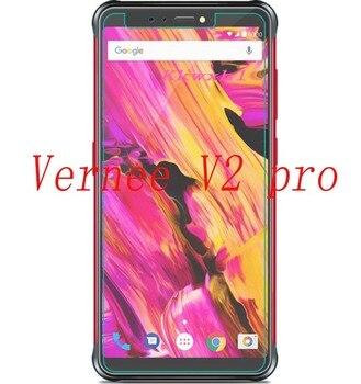 Перейти на Алиэкспресс и купить 2 шт новая Защитная пленка для экрана для Vernee V2 pro 5,99 дюймтелефона Закаленное стекло Защитная пленка для смартфонов Защитная крышка для экрана