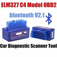 New High Quality Auto Scanner Accessories OBD Super Mini ELM327 Bluetooth Auto Car Diagnostic Tool USB