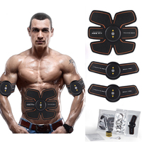 EMS Wireless Smart Abdominal Muscle Stimulator Electric Weight Loss Massager Sports Trainer Rechargable Body Slim Belt