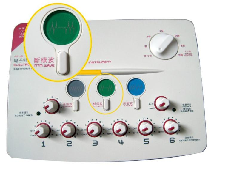 Hwato therapeutic massage Nerve and Muscle Stimulator SDZ-II massage electronic pulse needle Set hwato computer random pulse acupuncture treatment instrument smy 10a nerve and muscle stimulator tens 10 channels output ce appr