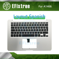 New For MacBook Air 13 A1466 Spanish Spain SP Top Case Topcase Palmrest with Keyboard 2013 2014 2015 Year 661 7480 069 9397