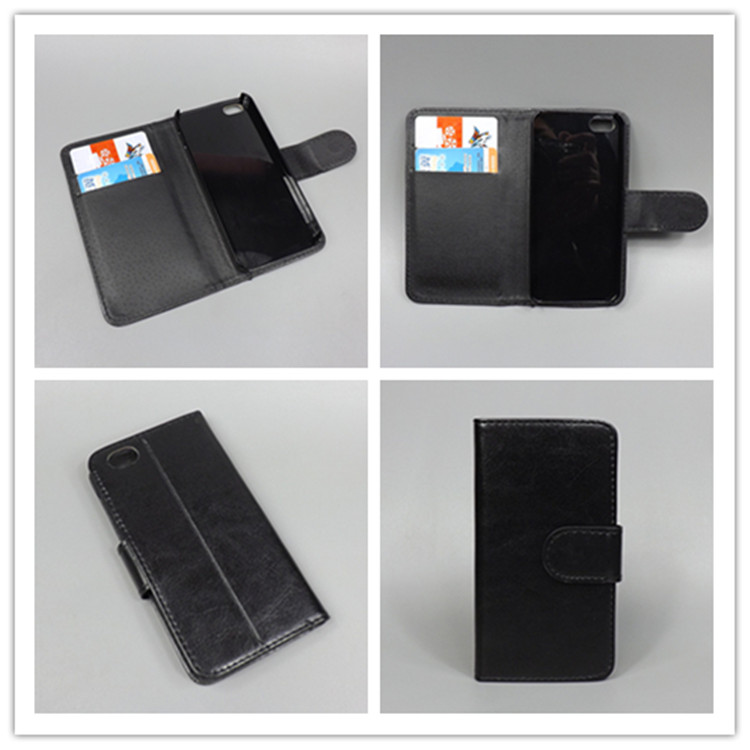 Case For IPHONE 5 c Crystal grain wallet case hold two Cards with 2 Card Holder and pouch slot for iPhone 5 c