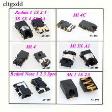 cltgxdd 1PCS for Xiaomi Mi 1 1S 4 4C 5X Redmi 2 2A 3 3S 4X Note Earphone ear phone Headphone Audio Jack
