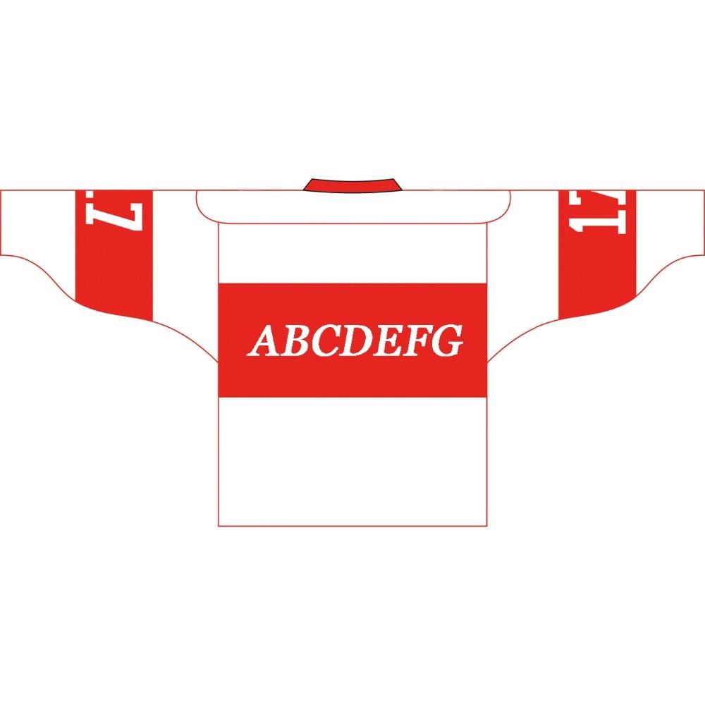 Kawasaki ապրանքանիշ Unisex Ice Hockey Jersey - Սպորտային հագուստ և աքսեսուարներ - Լուսանկար 5