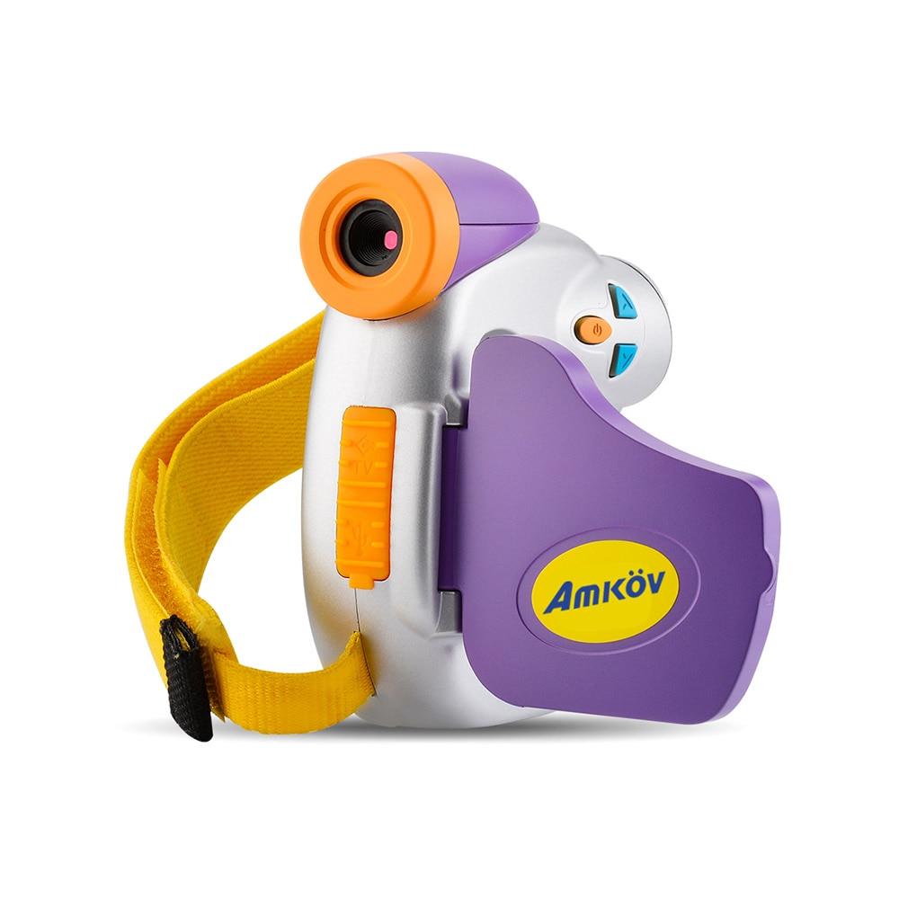 Amkov Dv C7 1080p Children Kid Digital Video Camera 1 44 U0026quot  Colorful Display Multiple Languages