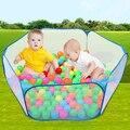 120 cm azul Kids Play Game House Tent piscina para los niños piscina de bolas carpa juguetes del bebé de interior exterior diversión y deportes carpa de césped