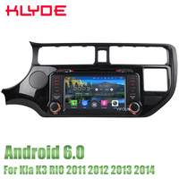 KLYDE 8 4GB RAM 32GB ROM Android 6.0 Octa Core 4G WIFI DAB+ RDS Car DVD Stereo Radio GPS Player For KIA RIO K3 2011 2014