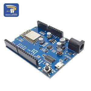 Image 5 - ESP 12F 12E WeMos D1 WiFi UNO Based ESP8266 shield For Arduino R3 Development board Compatible IDE