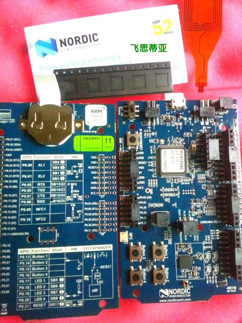 NRF52-DK Nordic Bluetooth Development Board Evaluation Module Kit NRF52832 SoC Pca10040 cc2530 development board zigbee development board kit node module cc2530zdk