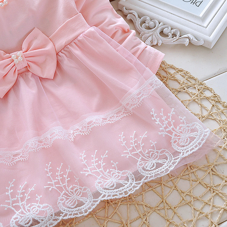 Free-shipping-2017-childrens-clothing-spring-autumn-child-casual-sweet-t-shirt-baby-girls-lace-Bow-cute-princess-t-shirt-2