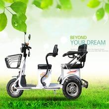 Электрические Мотоциклы Citycoco электрический скутер широкая шина лития два сиденья три круглых колеса пожилых людей с инвалидностью скутер