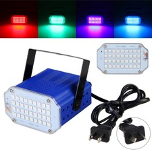 Mini 36W Stage 36RGB Projector Portable Lighting Adjustment Disco Club DJ Party