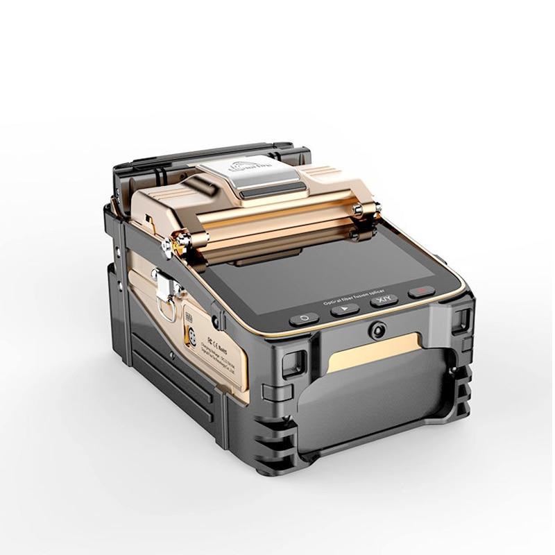 Бесплатная доставка AI-8C оптоволоконный сварочный аппарат FTTH автоматический SM ММ сигнальный огонь ai8 волоконный кабель сварочный аппарат