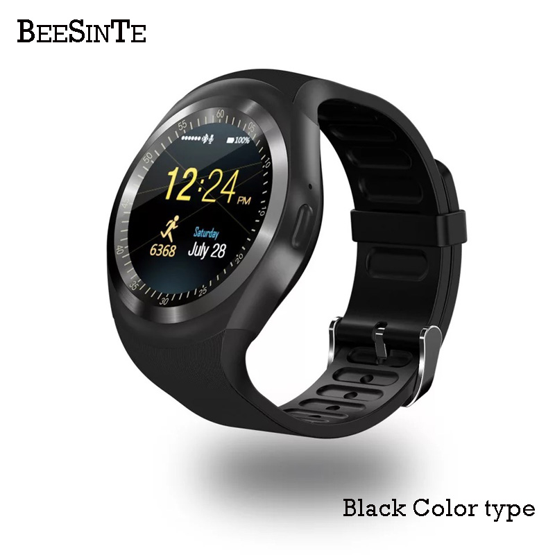 Image 2 - Smart Watch Bluetooth Smart wristband water proof Phone Call Support  with GSM Sim fitness tracker For Android Information-in Smart Watches from Consumer Electronics