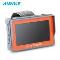 ANNKE 4,3 Zoll HD AHD CCTV Tester Monitor AHD 1080P Analog Kamera Testing PTZ UTP Kabel Tester 12V1A Ausgang