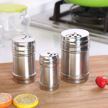 1PCS Stainless Steel Salt Spice Bottle For And Pepper Jar Container Kitchen Cooking BBQ Storage Jars
