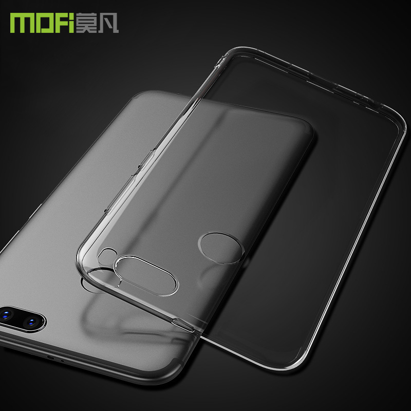 quality design fbf30 7c155 US $5.17 31% OFF|Xiaomi mi A1 case clear TPU silicon miA1 cover Xiaomi mi  A1 case cover clear A1 Android one cover silicon back mofi origina-in Flip  ...