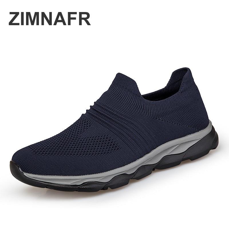 3a5fab62119 blue Moda Zapatos Verano Sneakers Los De Black Aire Sneakers Luz Hombres  Calcetines Pareja Padre gray ...
