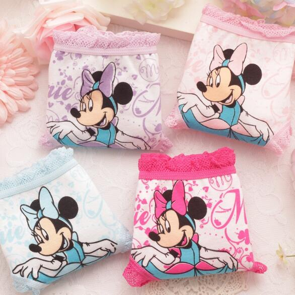 τTop SaleKids Underwear Panties Shorts Children's Briefs Baby-Girl Cartoon-Designs Cotton New-Arrive