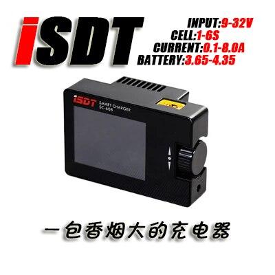 ISDT SC-608 МИНИ Смарт Зарядное Баланс 150 Вт 8А 1-6 S Полевым Lipo Зарядное Устройство Открытый зарядное устройство для мини quadcopter выбрать
