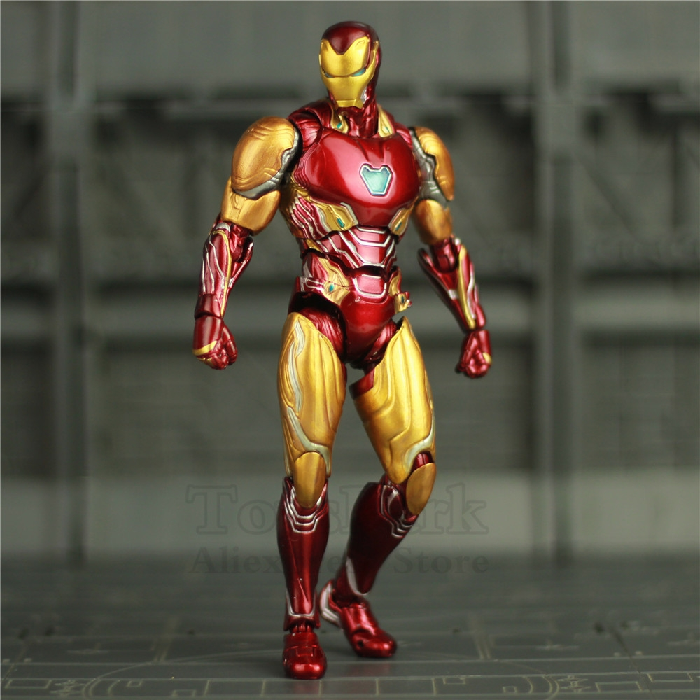 Marvel S H Figuarts 6 Iron Man Mk50 Mk85 Action Figure Ironman Mark 50 85 Tony Stark Shf Avengers Endgame Infinity War Doll Toy