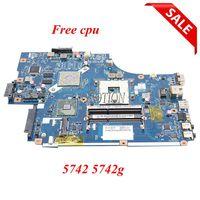 NOKOTION NEW70 LA 5891P MBWJR02001 MB.WJR02.001 For Acer aspire 5742 5742G Laptop motherboard HM55 DDR3 Free CPU