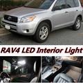 6pcs X free shipping Error Free LED Interior Light Kit Package for RAV4 accessories 2005-2012