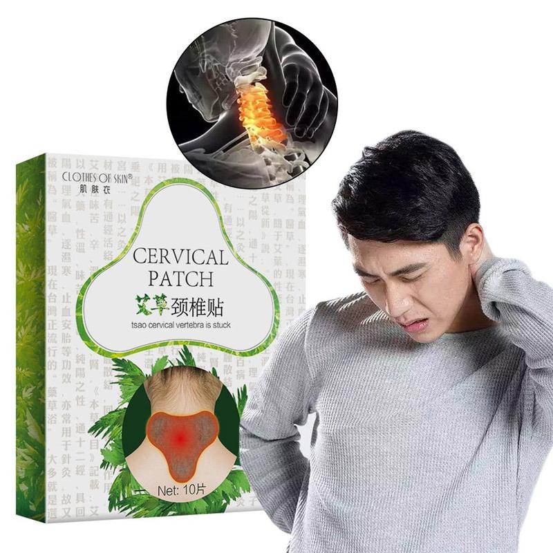 10pcs/set Neck Massager Brace Pain Relief Neck Massager Magnetic Therapy Cervical Vertebra Protection Body Massager