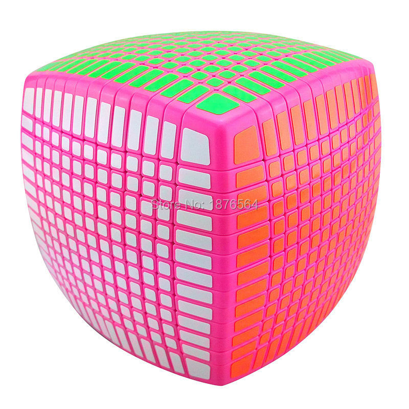 New Version MoYu ,Stickerless 13x13x13 Speed magic Cube Square Cubo Magico Puzzle ,learning & education  good Gift  Best Highest hot 2014 new brand dayan magic cubes gem vi diamond speed puzzles toy twist square cubo magico learning education toys gift
