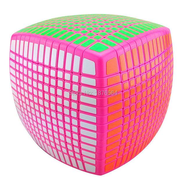 Nueva Version moyu, Stickerless 13 x 13 x 13 velocidad Cubo mágico cuadrado Cubo rompecabezas, aprendizaje y educación buen regalo alto mejor