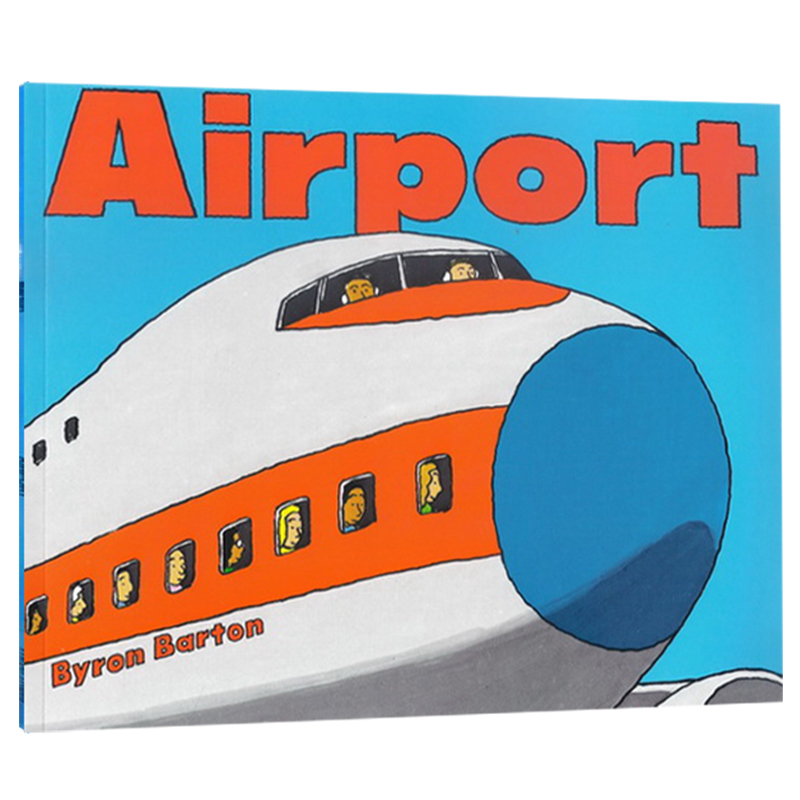 New Airport By Byron Barton English Picture Books Children story book Early Educaction paperboard reading bookNew Airport By Byron Barton English Picture Books Children story book Early Educaction paperboard reading book