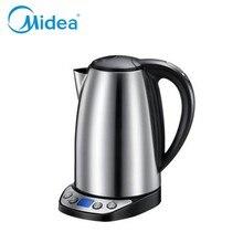 Midea zagotować wodę termo dzbanek do herbaty czajnik elektryczny 220 v elektryczne pot anty-suche i auto-off elektryczny dzbanek do herbaty agd UE wtyczka