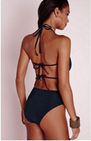 Bandage One-Piece Bikini Swimsuit Bathing Suit Swimwear 2