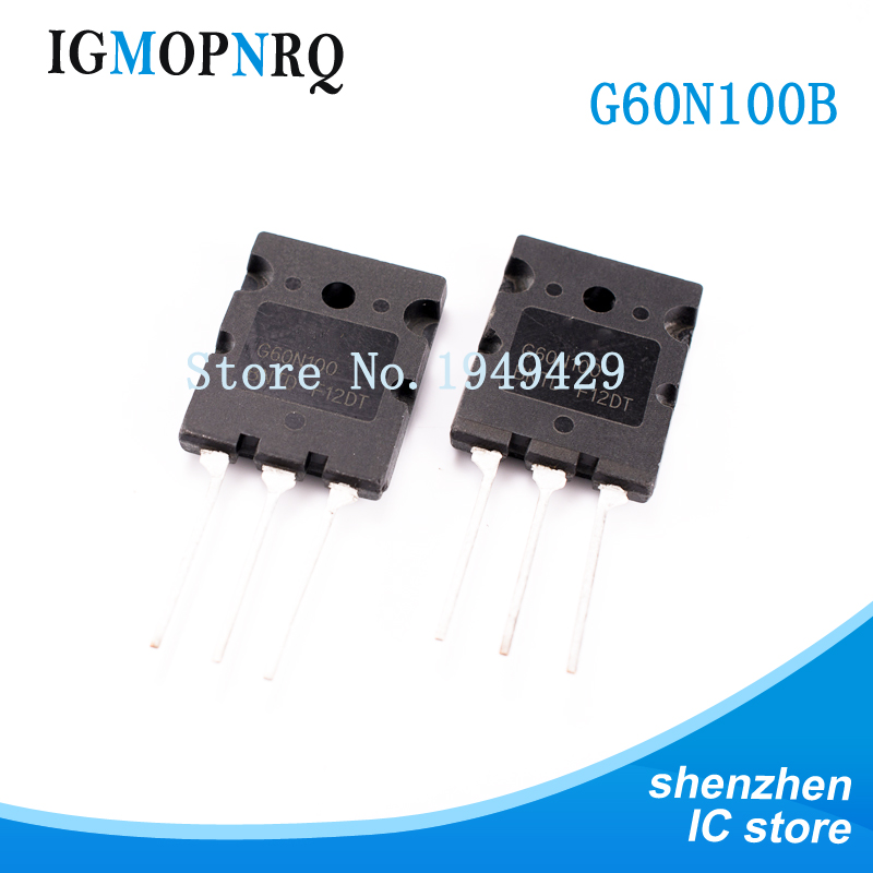 5PCS/lot G60N100BNTD G60N100 TO-247 FGL60N100 <font><b>60N100</b></font> IGBT transistor HIGH New original image