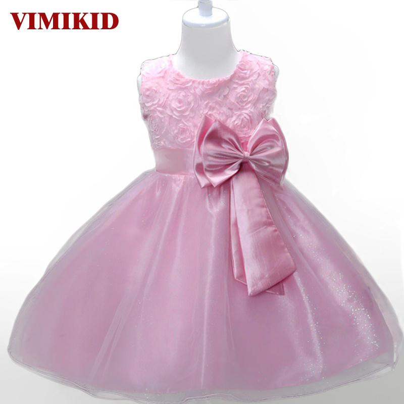 Princess   Flower     Girl     Dress   Summer Tutu Wedding Birthday Party   Dresses   For   Girls   Children's Costume Teenager Prom Designs k1 k1