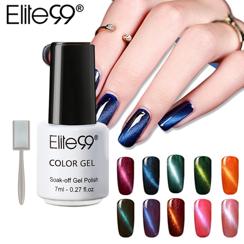Elite99 Professional Nails Gel Uv Led Gel New Design 3d Magnetic Cat Eye Gel Nail Polish Nail