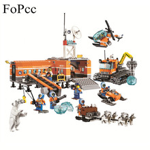 hot deal buy 10442 783pcs city arctic base camp model buildinlg blocks bricks toys hobbies for children gift 60036 legoings