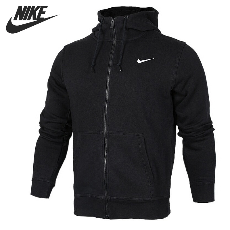 цена Original New Arrival 2017 NIKE CLUB FZ HOODY SWOOSH-N Men's Jacket Hooded Sportswear онлайн в 2017 году