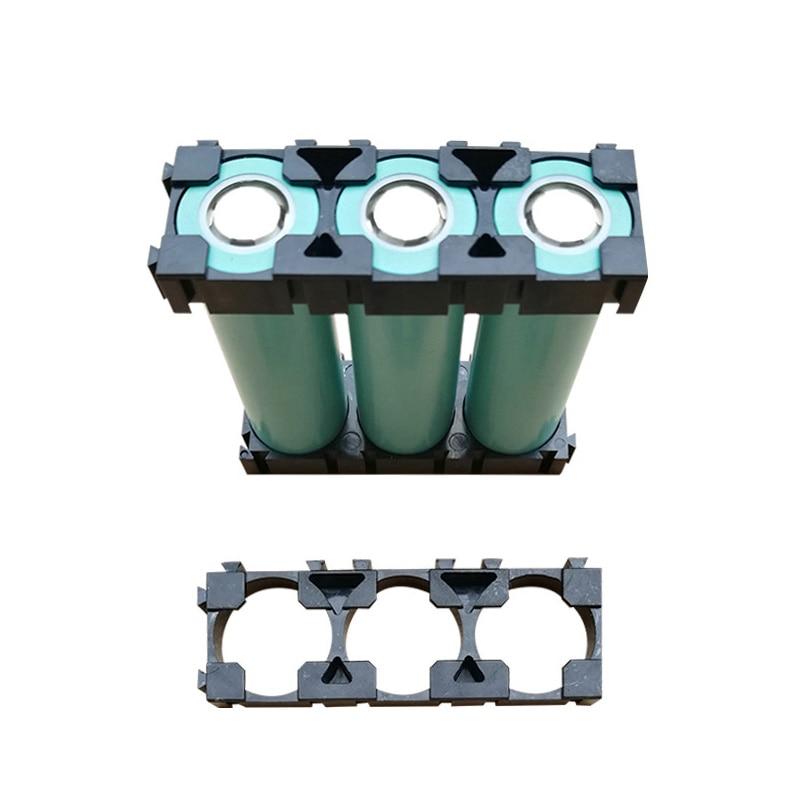 все цены на 50 Pcs 1x3 Cell Spacer 18650 Li-ion Battery Holder Radiating Shell Rack Cylindrical Batteries Bracket Fixture JDH99 онлайн