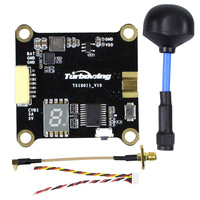 TX18011 0 / 25 / 200 / 600mW Switchable 5.8G 48CH FPV VTX Video Transmitter with Polarized Antenna RC Drone Quadcopter Parts
