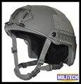 M/LG Folhagem Verde Deluxe Kevlar À Prova De Balas NIJ nível IIIA RÁPIDO Relatório de Teste Balístico capacete Com HP Branco e 5 Anos garantia
