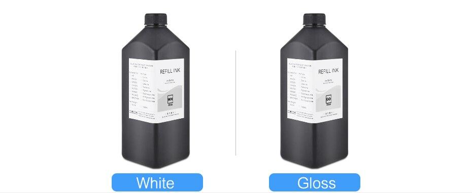 1000 mlgarrafa led tinta uv para epson