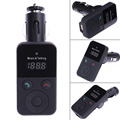 Car Bluetooth FM Transmitter Kit Handsfree Wireless USB SD LCD Remote MP3 High Quality