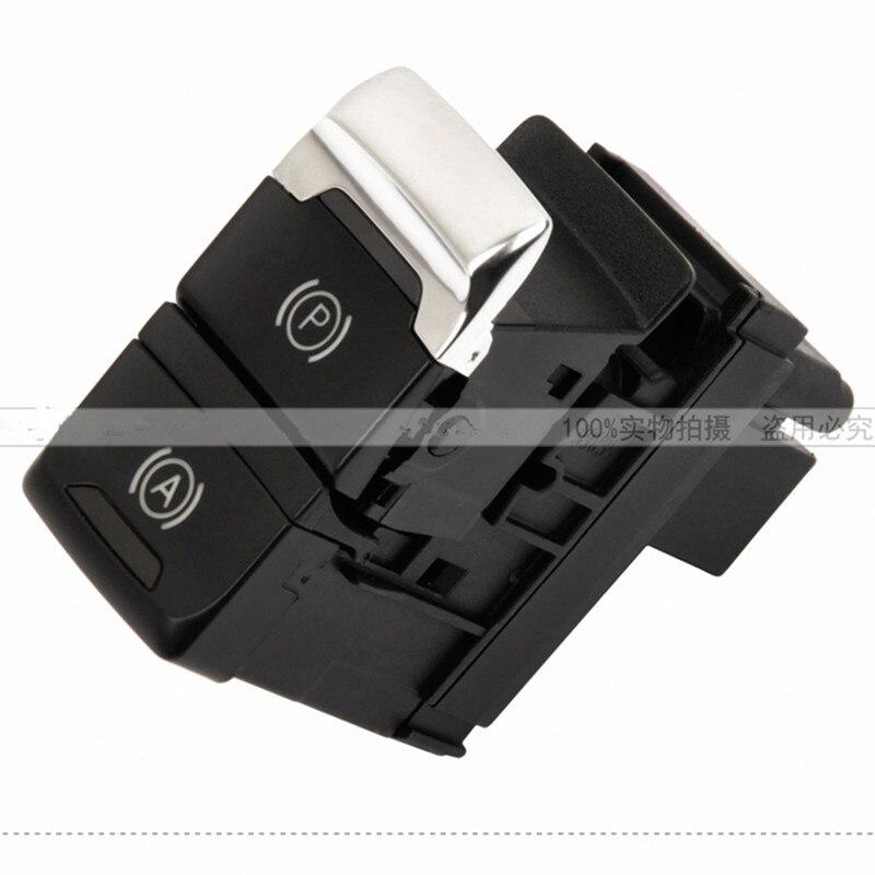 Handbrake button switch Parking Auto Hold switch  FOR AUDI  A4 B8 B9 A5 Q5  8K1 927 225 C  D new auto parts for bmw 5 series x3 f10 f18 stop switch handbrake switch automatic start and stop parking brake