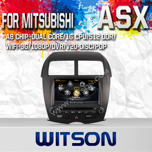 WITSON Car DVD Player for MITSUBISHI ASX  GPS Navigation Super Fast A8 Chipset Dual-Core CPU:1GMHZ RAM:512M Free Shipping