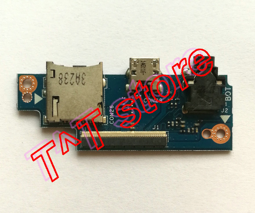 original for TX201LA TX201LAF charger USB Audio Jack SD Card Board TX201LAF_PAD_USB_BD test good free shipping original laptop t100chi usb charger board t100chi bt docking test good free shipping